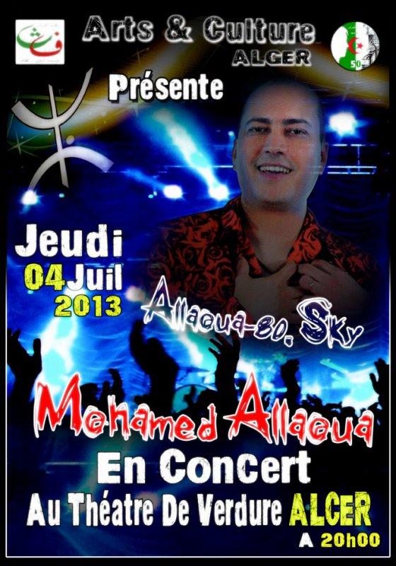 ☆ Le Prince Mohamed Allaoua ☆ Au Théatre De Verdure ALGER ☆