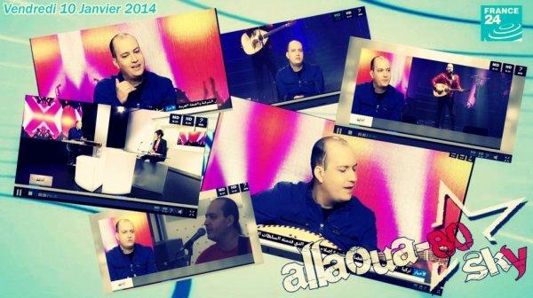 Passage Du Prince Mohamed Allaoua Sur FRANCE 24 ☆  Vendredi 10 Janvier 2014