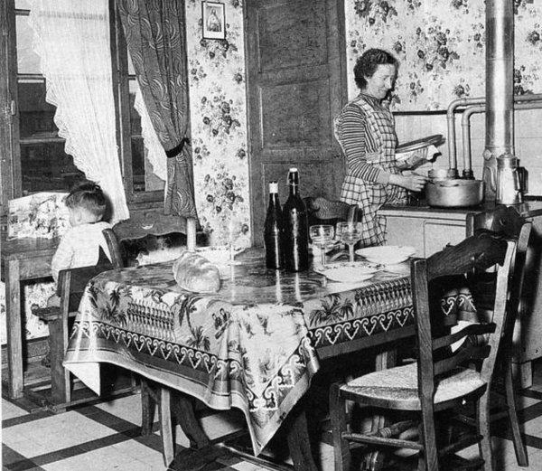 Foyer de mineur du Pas de Calais, dans les années 60