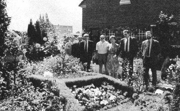 Les concours de jardins  des ouvriers mineurs.