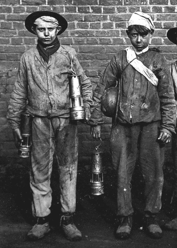 Les galibots, enfants de la mine...