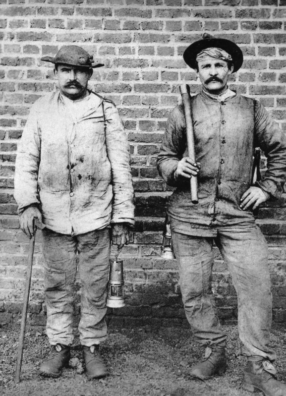 Mineurs au début du XX ème siècle