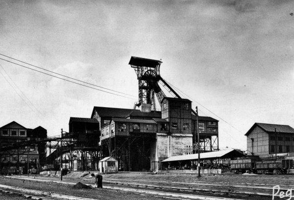 Catastrophe de la fosse N° 5 d'Auchel en 1964