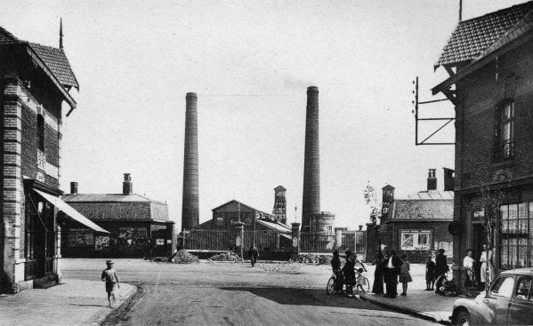 La catastrophe de la fosse N° 6 d'Haillicourt en 1940.