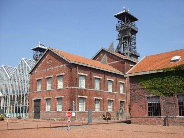 Le Centre Historique Minier de Lewarde, ex fosse Delloye de la compagnie des Mines d'Aniche.