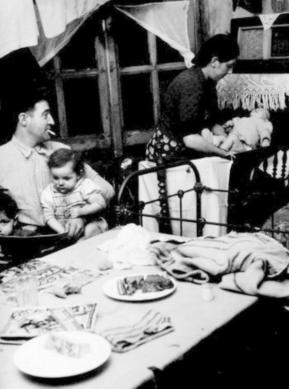 Famillle de mineur en 1948.