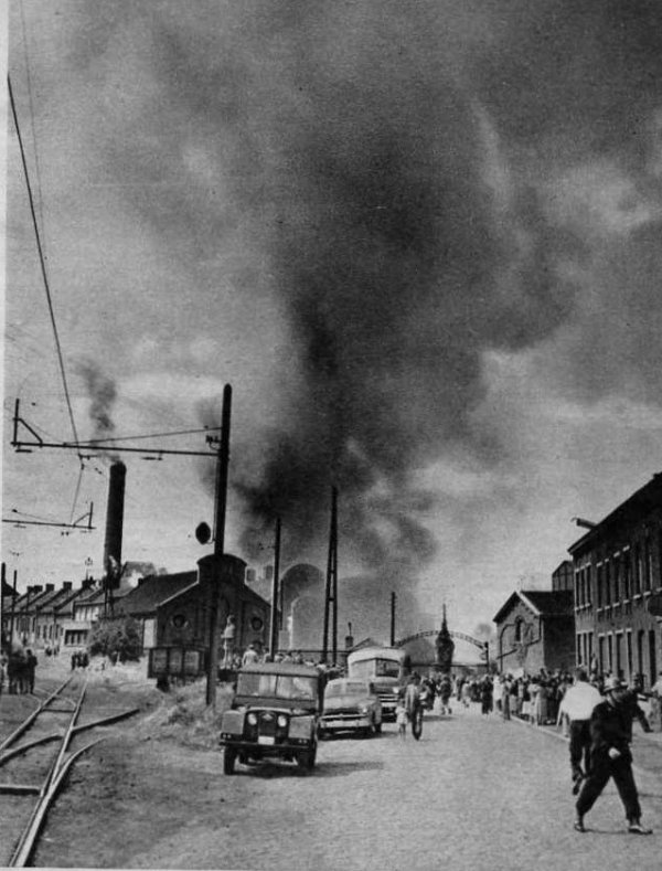 La catastrophe du Bois du Cazier de Marcinelle le 8 août 1956.