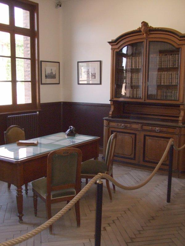 Le bureau de l'ingénieur chef de siège.