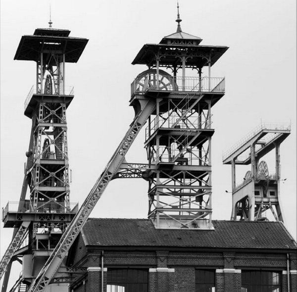 La fosse de concentration de Wallers Arenberg.