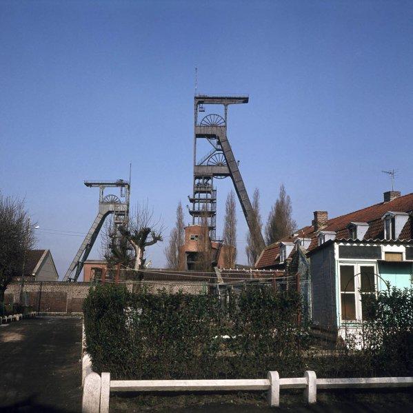 Fosse de Gayant à Waziers en 1980