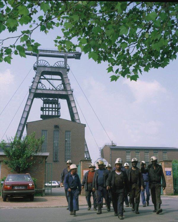 La fosse de concentration de Wallers Arenberg. 1