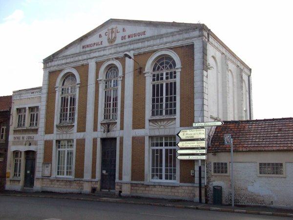 L'Ecole de Musique de Bruay en Artois.
