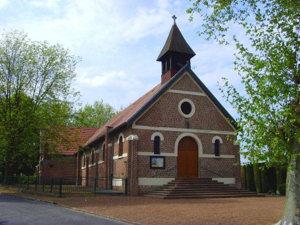 L'église Saint Stanislas de Calonne Ricouart 1/3