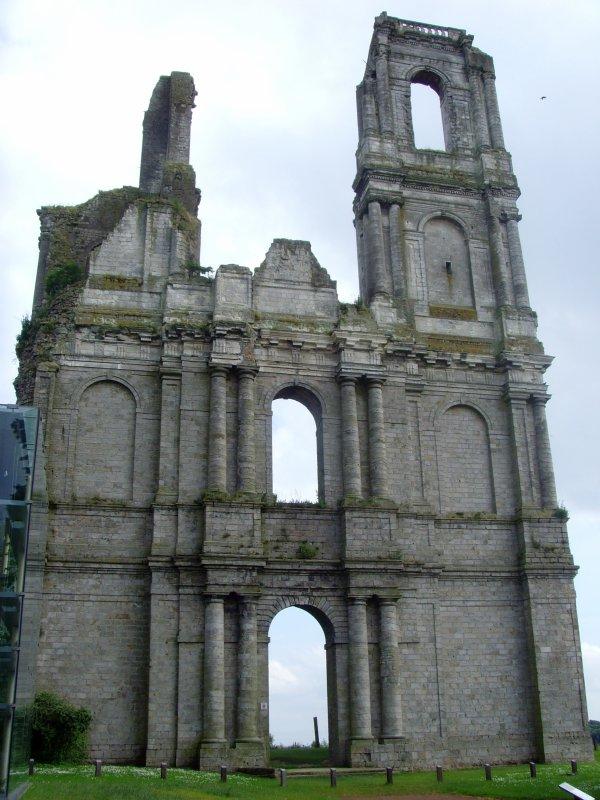 Abbaye du Mont Saint Eloi près d'Arras.