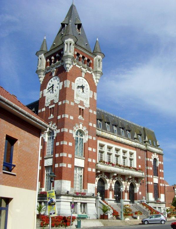 Bruay, l'Hôtel de ville