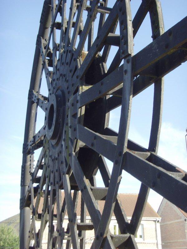Mollette de la fosse N°7 d'Houdain, Compagnie des Mines de Bruay en Artois. 3/3