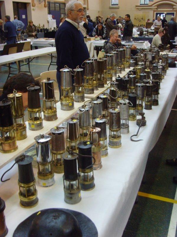 """Salon de l'objet minier,""""  MINING 2009 """",  de Bully les Mines le dimanche 4 octobre 2009 salle Corbelle."""