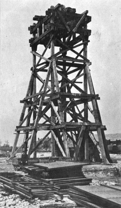 Fosse N° 4 de Meurchin en 1920.