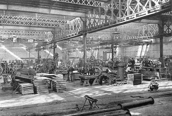 Ateliers centraux de la Compagnie des Mines d'Aniche vers 1930 - 4