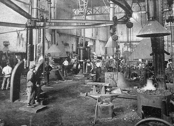 Ateliers centraux de la Compagnie des Mines d'Aniche vers 1930 - 3