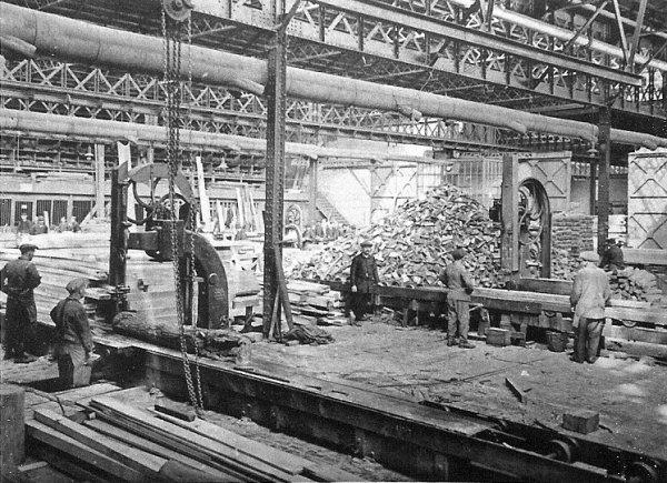 Ateliers centraux de la Compagnie des Mines d'Aniche vers 1930 - 2