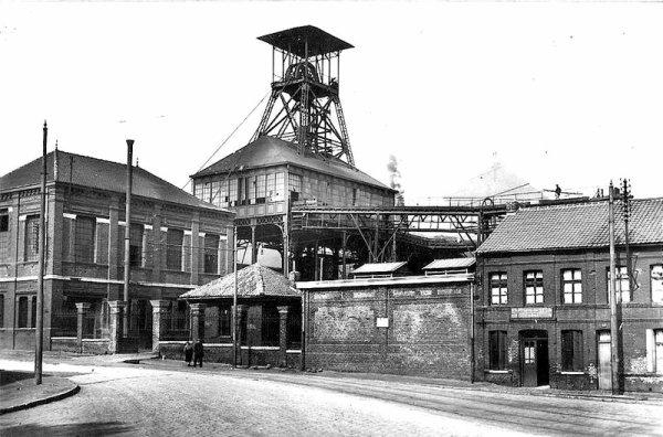 Fosse Bleuse Borne - Compagnie des Mines d'Anzin