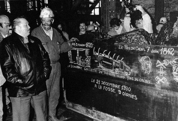 21 décembre 1990, Houillères de Oignies.