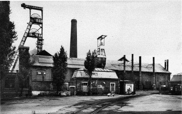 La fosse N°5 de Bruay en Artois à Divion 2