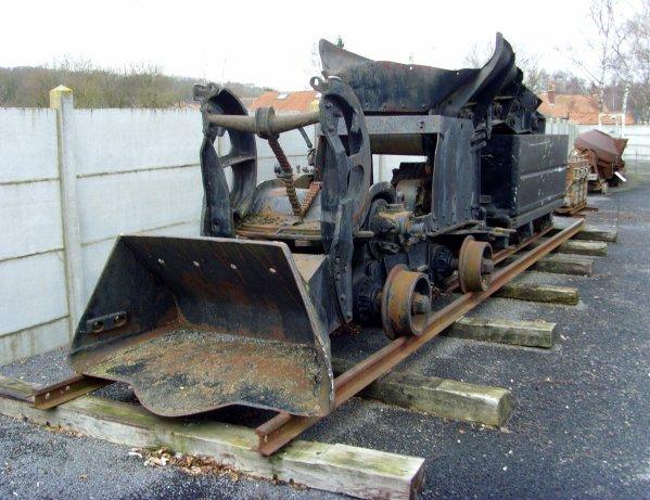 """Loco chargeuse """" EIMCO"""" type 21 B - Centre Historique Minier de Lewarde"""