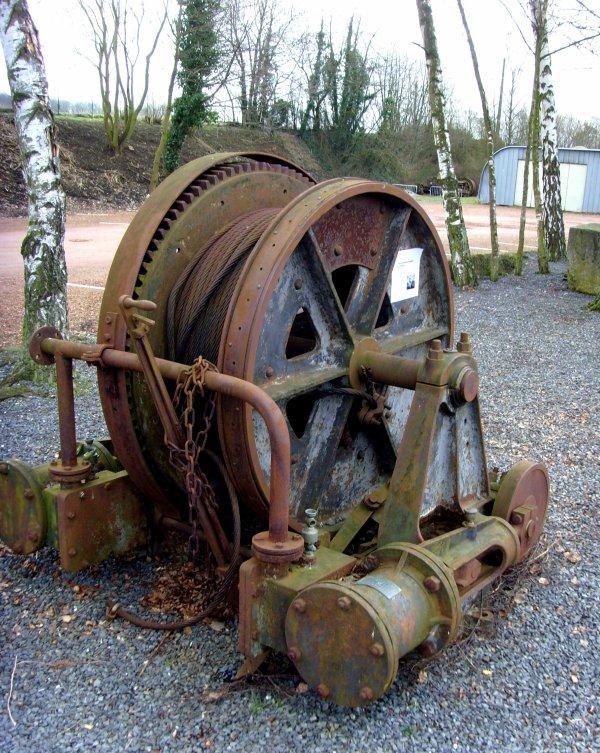 Treuil de secours - Centre Historique Minier de Lewarde