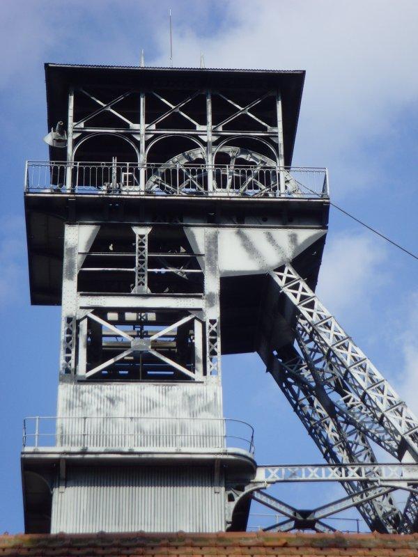 Rénovation de la fosse N° 9 d'Oignies - Projet Confinances par l'Union Européenne. 3