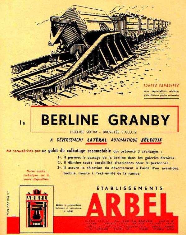 Culbuteur de berlines GRAMBY - constructeur ARBEL Douai