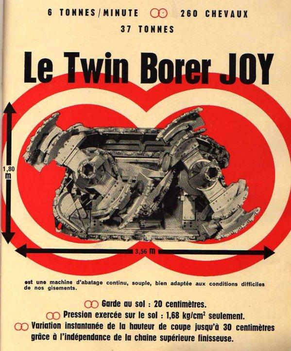 Haveuse double tambours Twin Borer Joy - 6 tonnes / minute