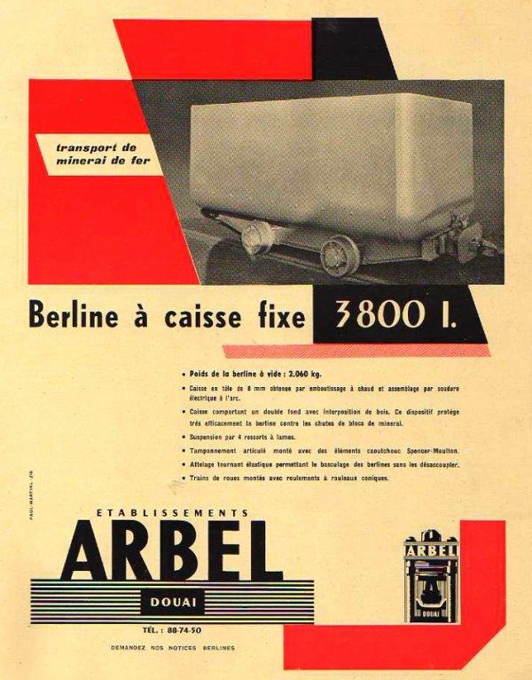 ARBEL Douai - constructeur de berlines