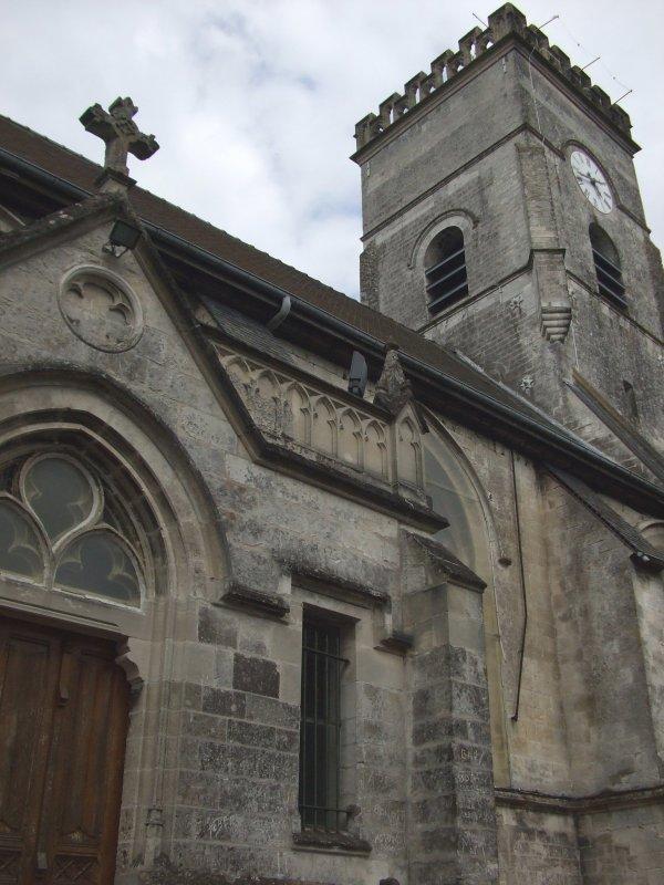 La légende diabolique de l'église d' Houdain  ( 1 )