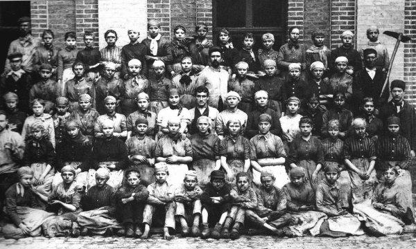 Dans les mines de Liévin vers 1900