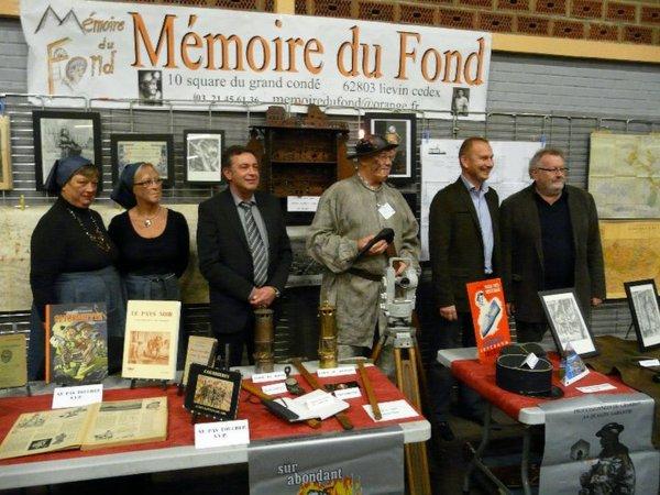 Mémoire du fond à Hersin Coupigny, la semaine de la mine des mineurs et de leur language.
