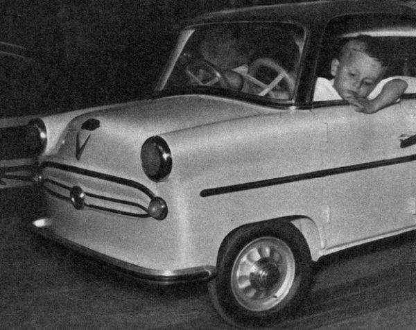 Ducasse d' Hénin - Liétard en 1957.