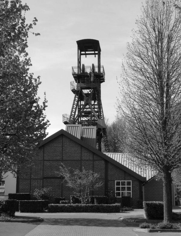 Vestiges du patrimoine industriel  de Marles les Mines.