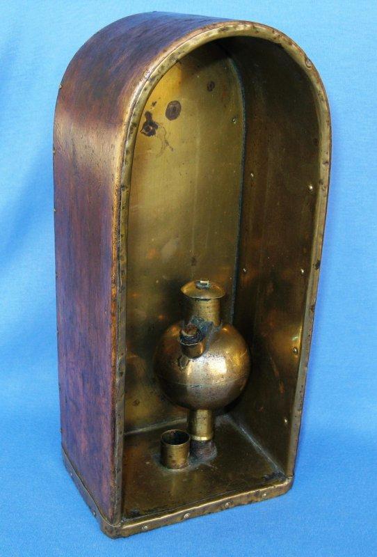 Une curieuse lampe à huile: la Blende saxone