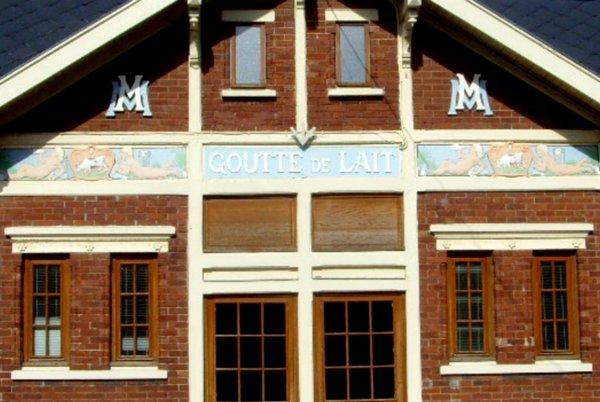 """La """" Goutte de Lait """" d' Auchel de la Compagnie des Mines de Marles"""