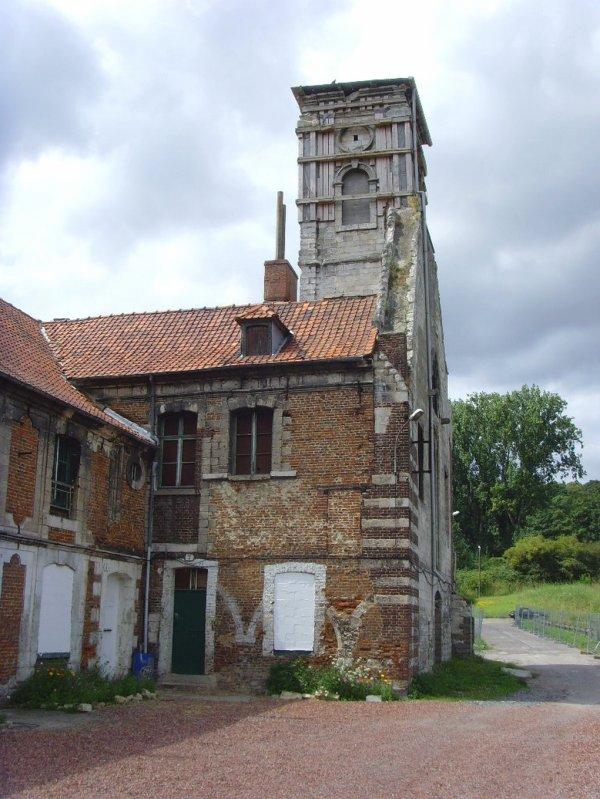 La chartreuse du Mont Sainte Marie à Gosnay.