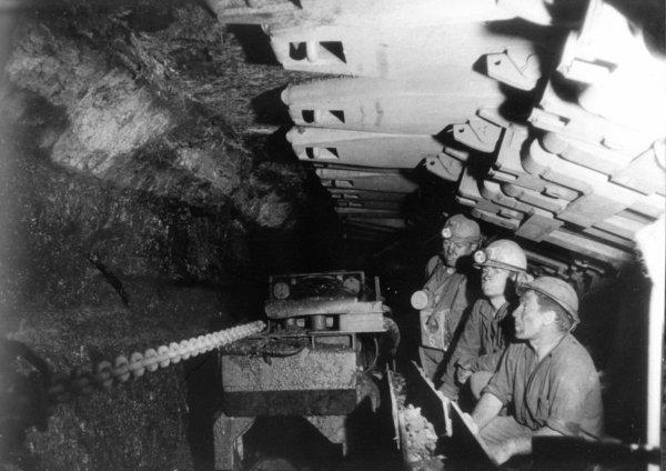 Au fond de l' UP 2 de Marles les Mines