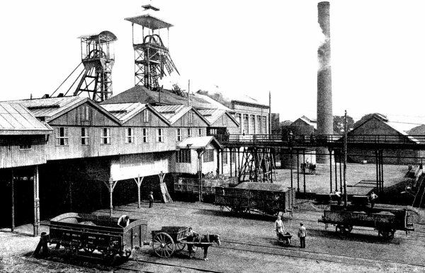 Les mines d' Auchel