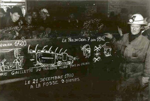Le 21 décembre 1990, à Oignies, une page de l'histoire de notre région s'est tournée.