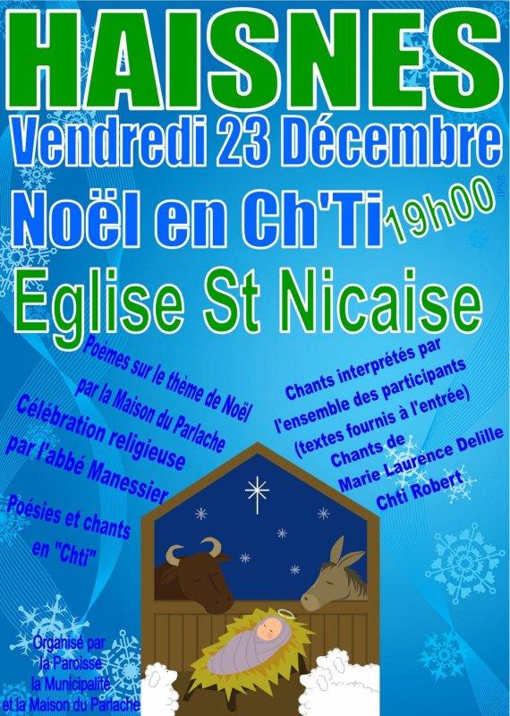 Noël en ch' ti à Haisnes, un évènement à ne pas manquer !...