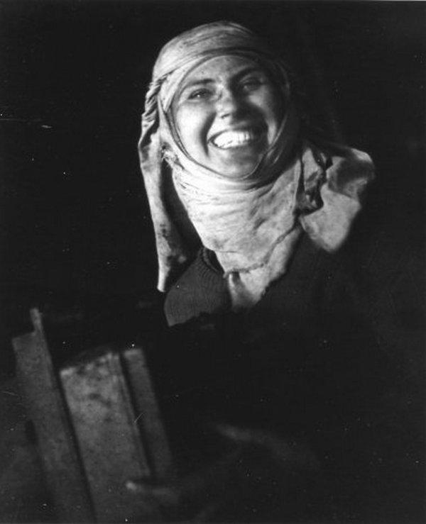 """ Mines de Lens en 1945 "" du photographe Robert Doisneau ( 1912 - 1994 ) 2/2"
