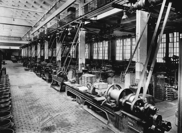 Photos anciennes de l' usine de lampes de mine ARRAS - 1/3