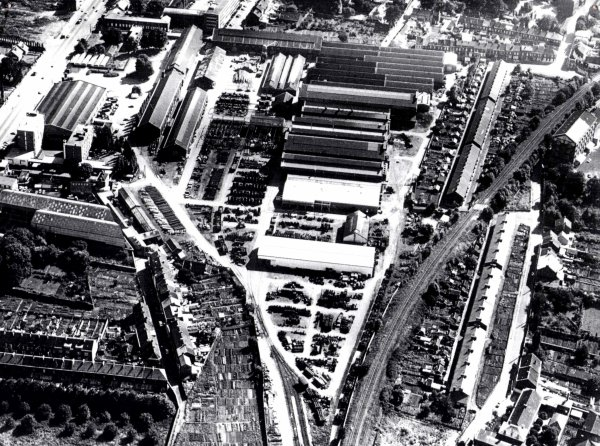 Les ateliers centraux des mines d' Anzin en 1971