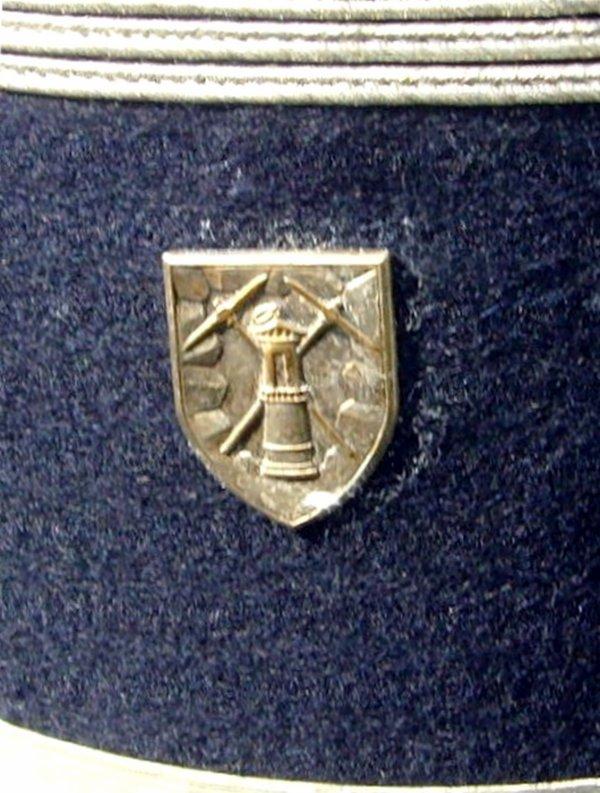 Tenue de garde des mines des Compagnies Houillères du Nord Pas de Calais.
